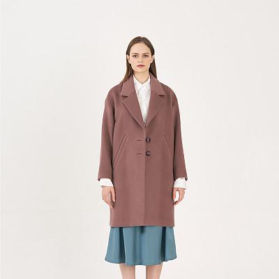 [프릭스 김태훈] FREAKS KIMTAEHOON 19FW 미니멀 테일러드 루즈핏 울 코트 MInimal Tailored Loose Fit Wool Coat_ORCHID HAZE