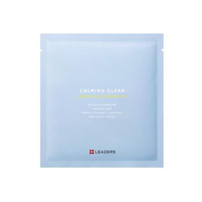 리더스 카밍 클리어 버블 필 클렌징 패드 1팩 (5개) (丽得姿舒缓去角质泡泡净肤棉片) 1包 (10个)