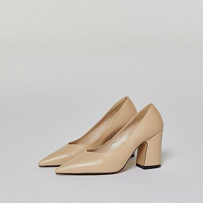 심플라인펌프스 4컬러 (4개) [简单线高跟鞋(4双)]