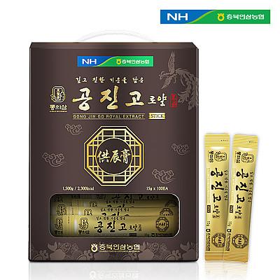 농협 동의삼 공진고 로얄스틱 15g X 100포